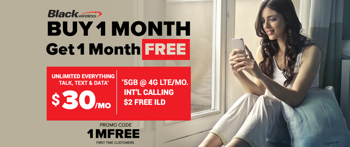 Buy 1 month, get 1 month free